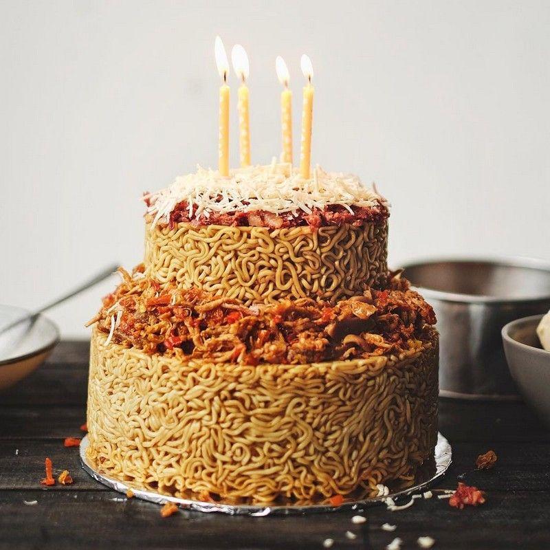 Resep Atau Cara Membuat Kue Ulang Tahun Dengan Mudah Dan Enak Kue Ulang Tahun Makanan Kue
