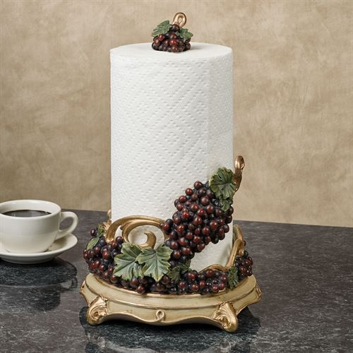 Vigne Elegante Grapes Paper Towel Holder #papertowelholders