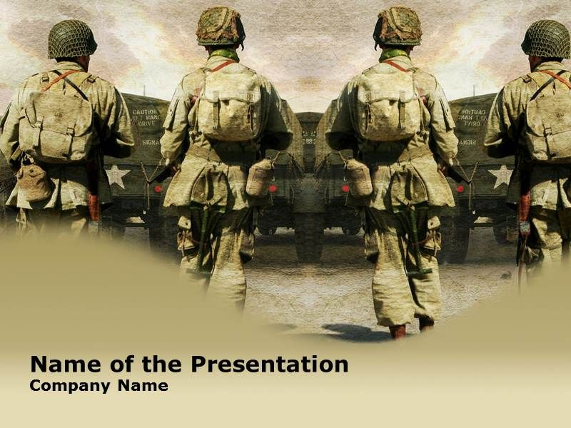 Powerpoint Backgrounds History Solders Powerpoint
