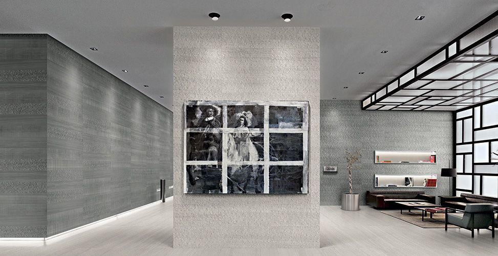 Grey Wood Wall Living Room Ideas