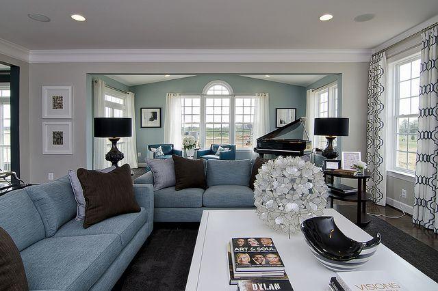 Living room ideas #ModelHome