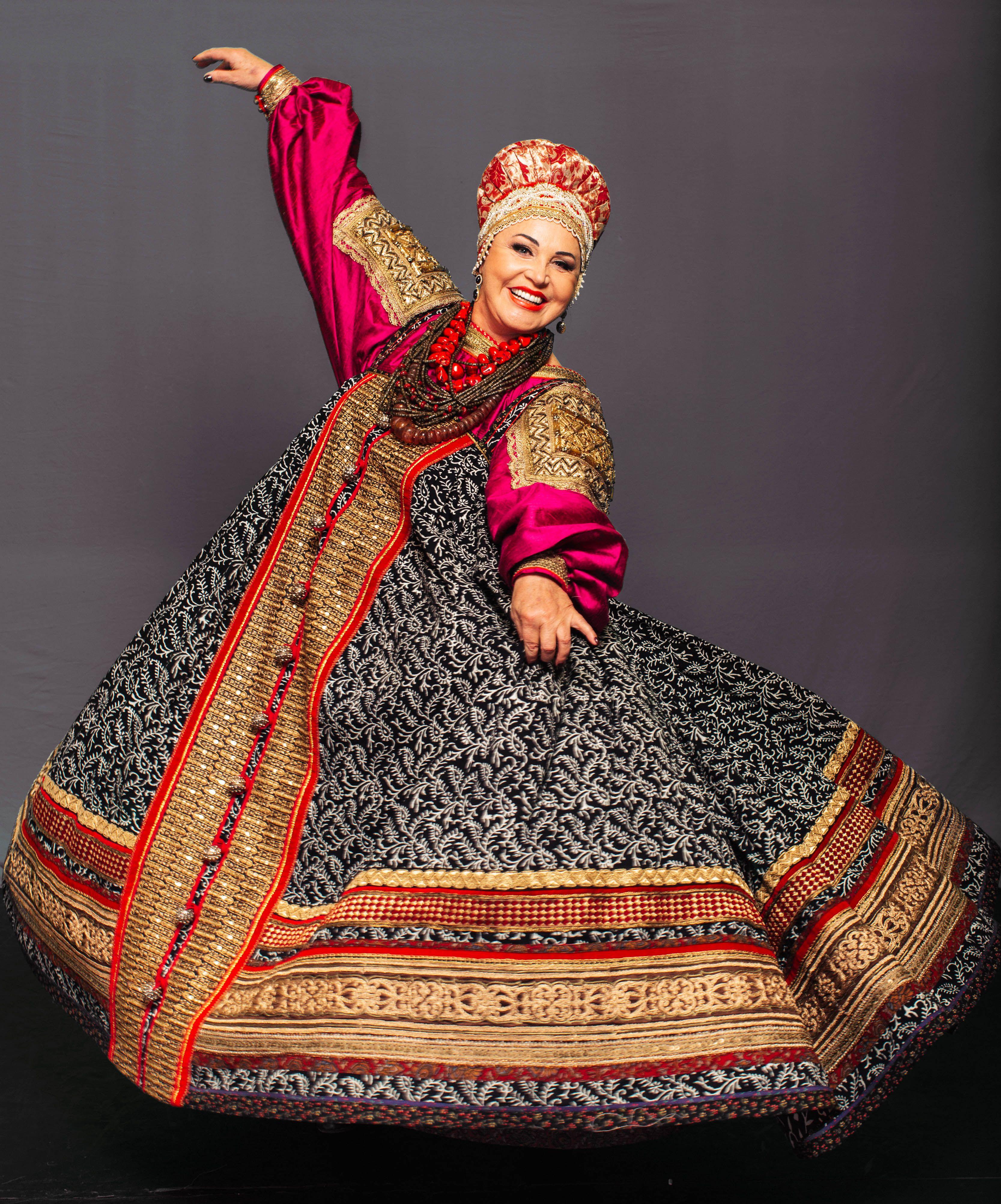 современный русский народный костюм фото это