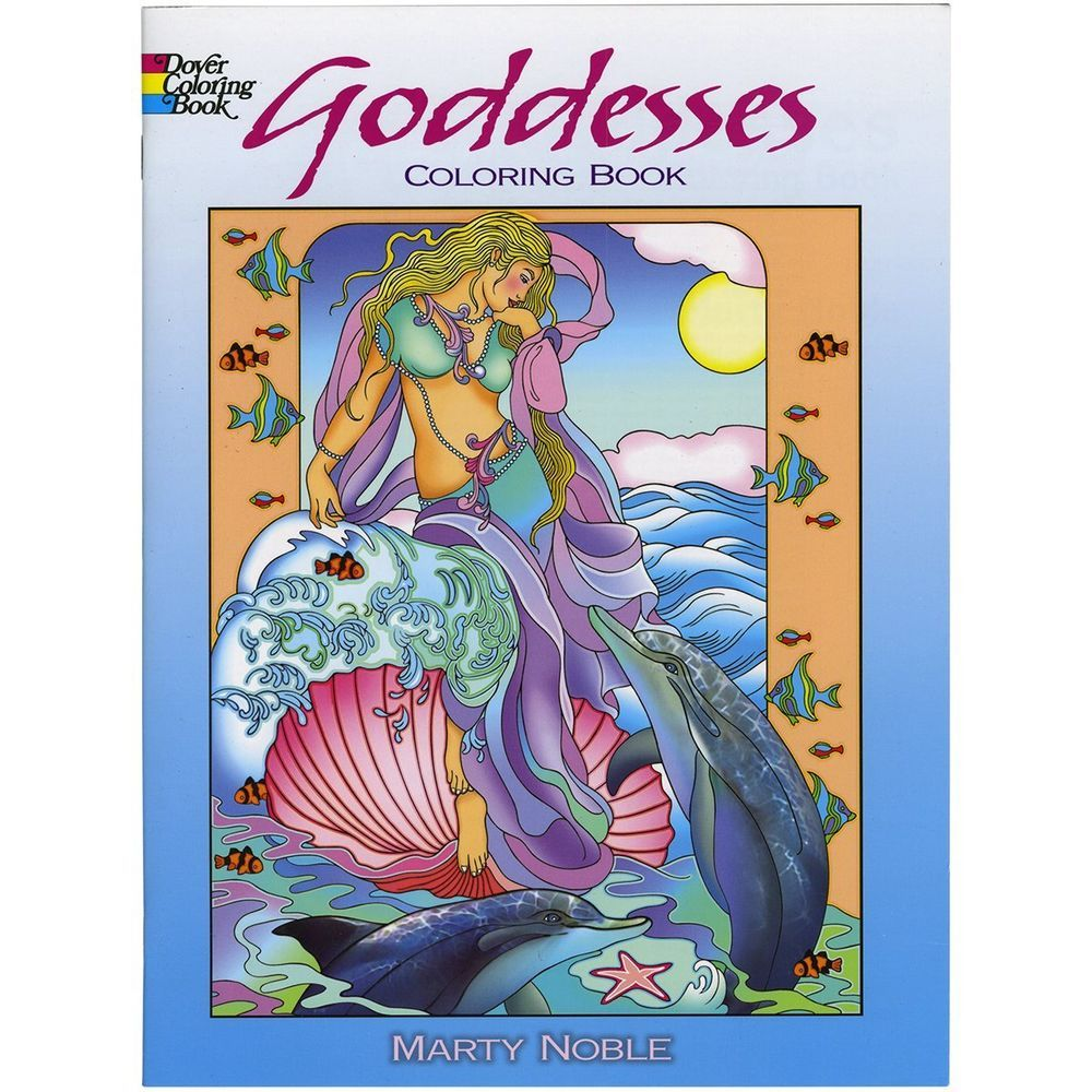 - Goddesses Coloring Book (Dover Coloring Books&#x29