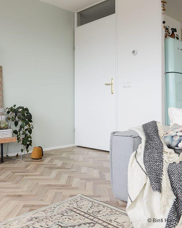 Welke kleur groen op muur voor onze woonkamer metamorfose?