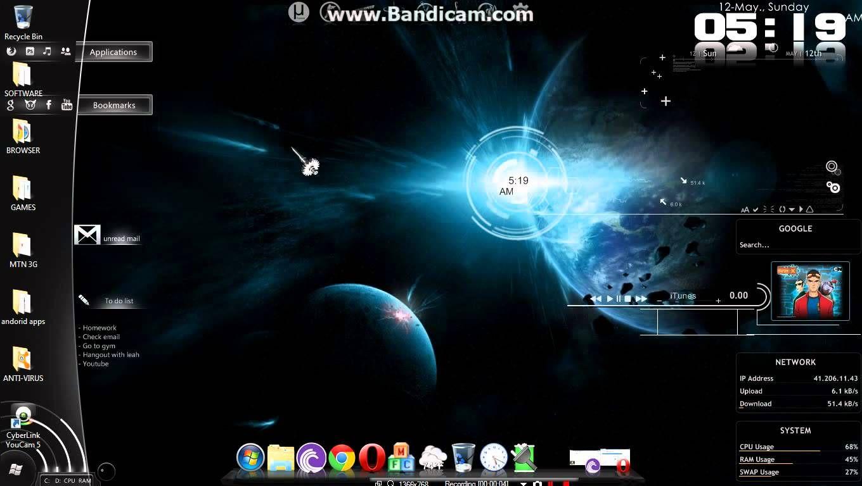 Maxresdefault Jpg 1360 768 Desktop Themes Windows 7 Themes Theme