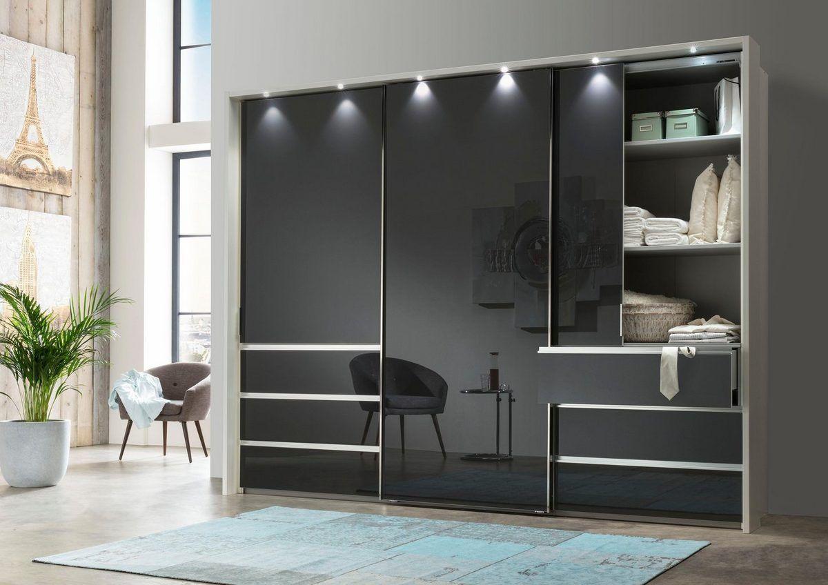 Wiemann Schwebeturenschrank Malibu Mit Glasfront Otto In 2020 Schwebeturenschrank Schiebe Kleiderschrank Schrank Design