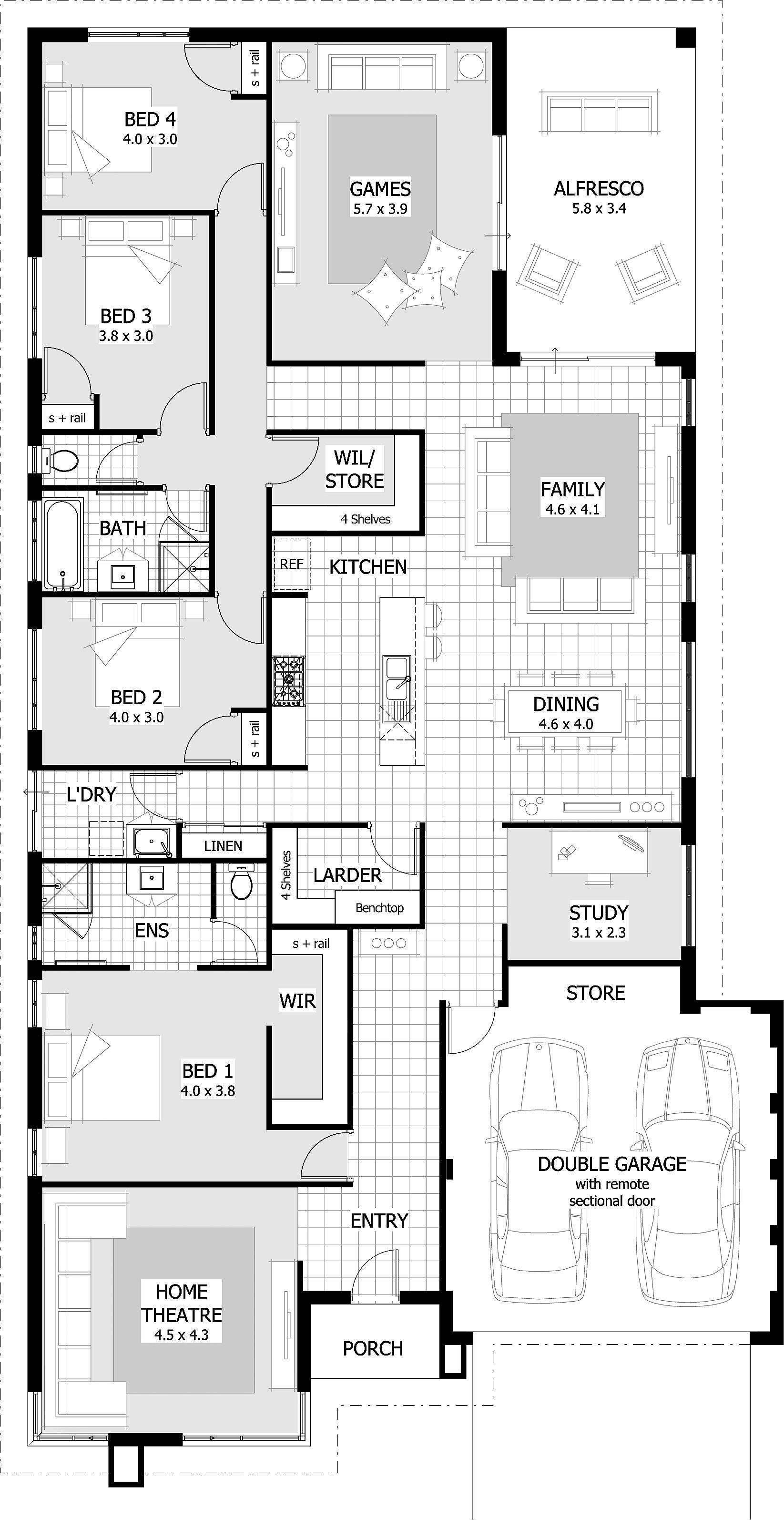 Lennox Floor Plan New House Plans House Blueprints Floor Plans