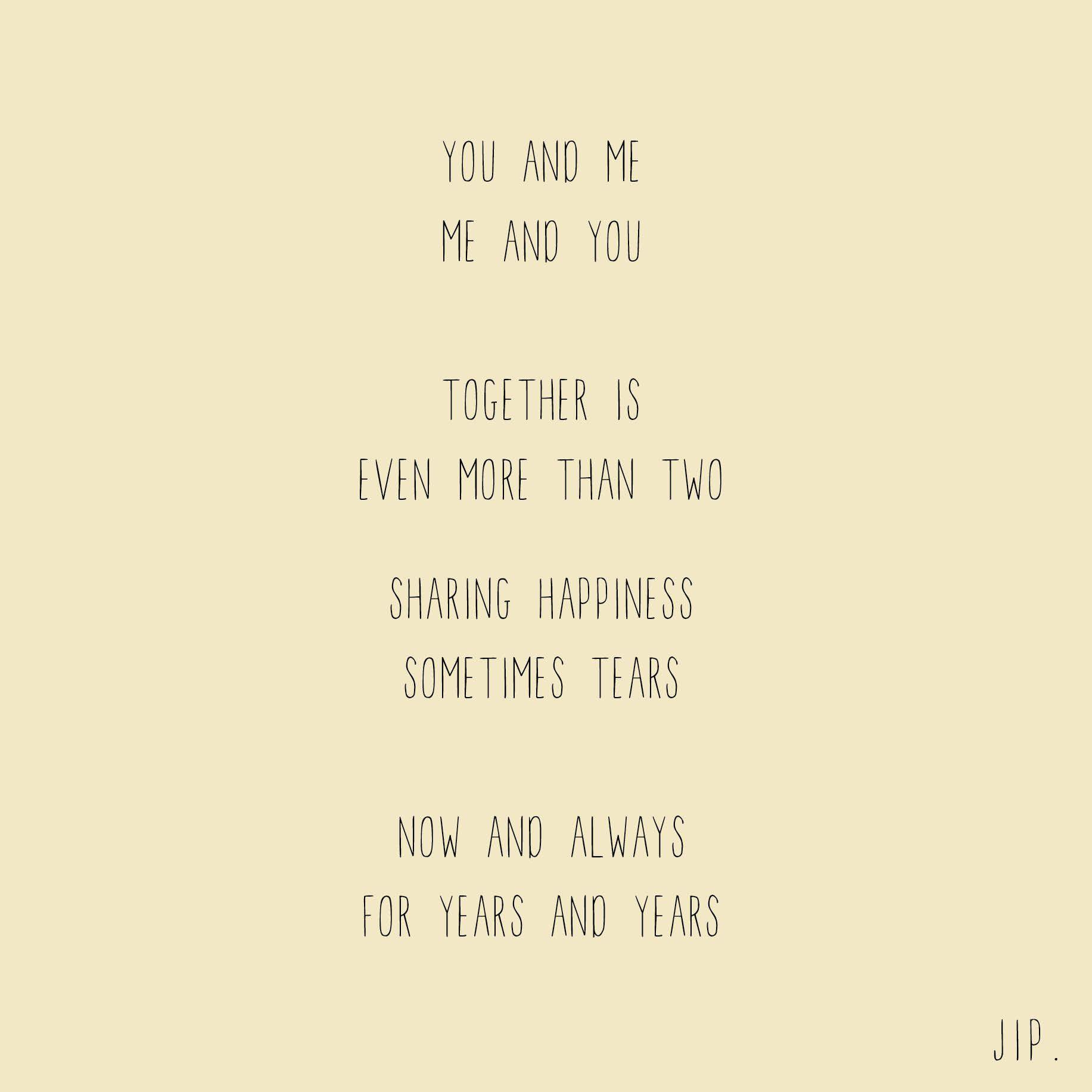 Tekstje gedichtje van gewoon jip mooie teksten