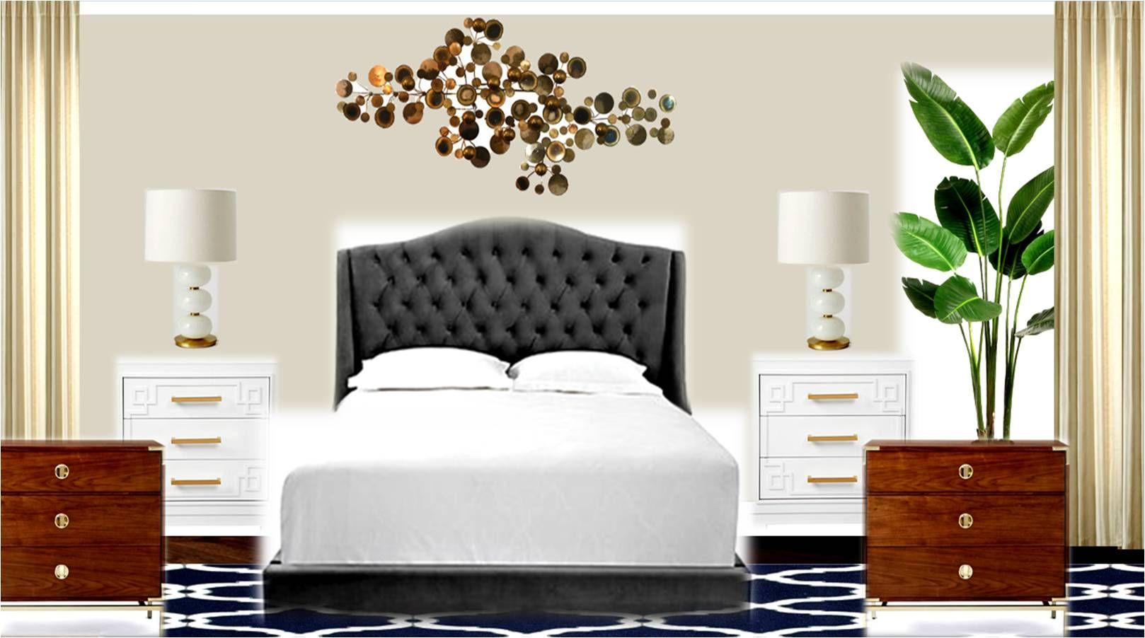 Master bedroom option 6 Alaskan Skies Home decor