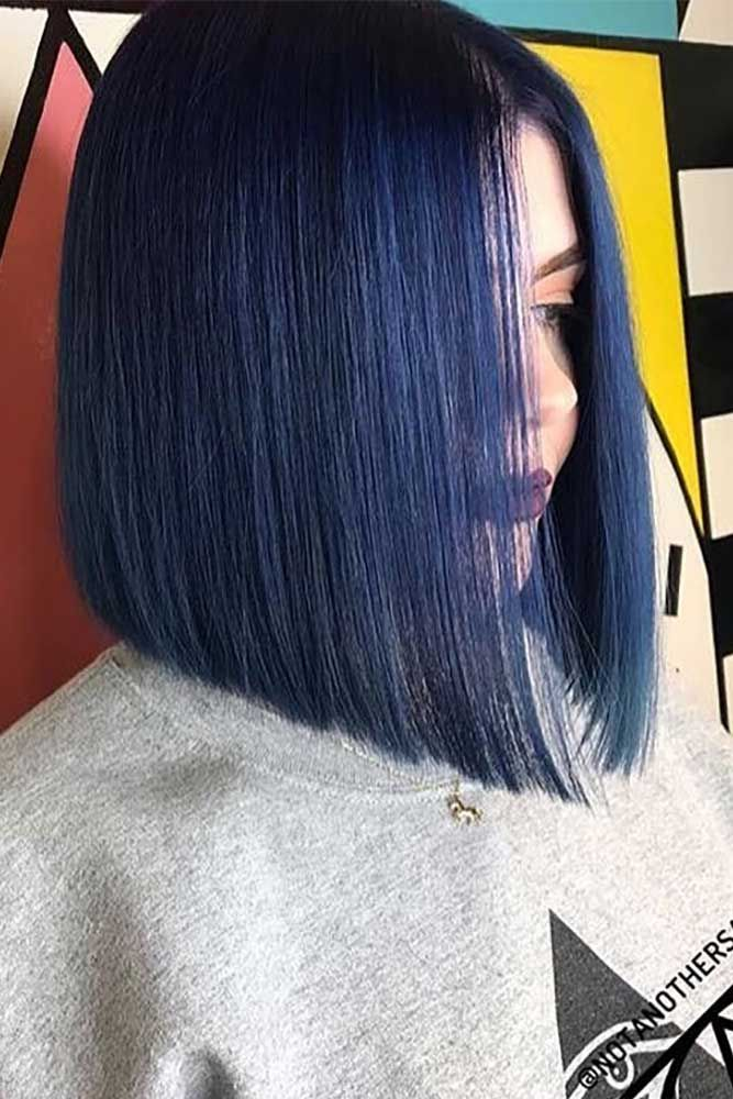 18 Blunt Bob Hairstyles To Wear This Season Lovehairstyles Bob Hairstyles Blunt Bob Hairstyles Hair Styles
