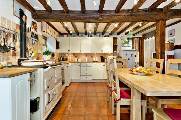 Such A Cosy Kitchen In 17th Century Village House