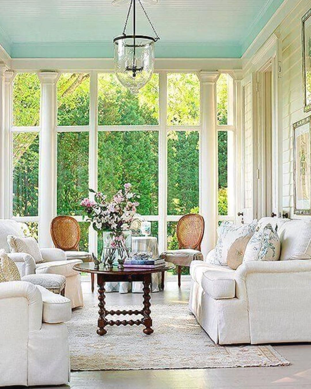 As Summer Approaches I Have Sunroom Design On My Mind This Sunroom Window Is Awesome The Space Inspires R Sunroom Decorating Sunroom Designs Relaxation Room Awesome sunroom design ideas