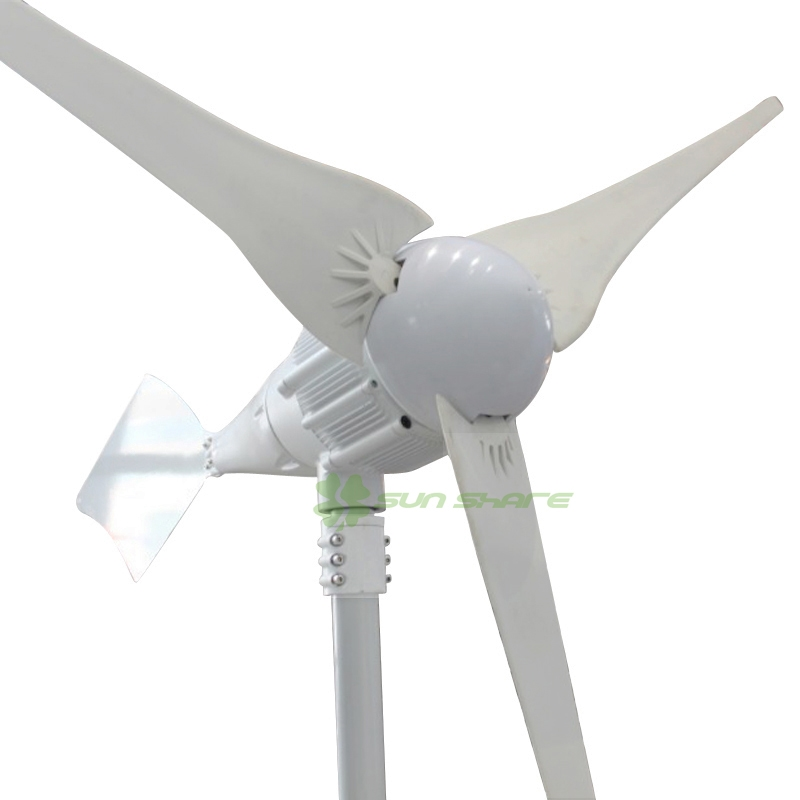 943.11$  Buy now - http://aliacl.worldwells.pw/go.php?t=572025338 - Free shipping SMALL 1000W wind generator  48v /24v large output  delivery from factory suitable using on boat /sailling /home