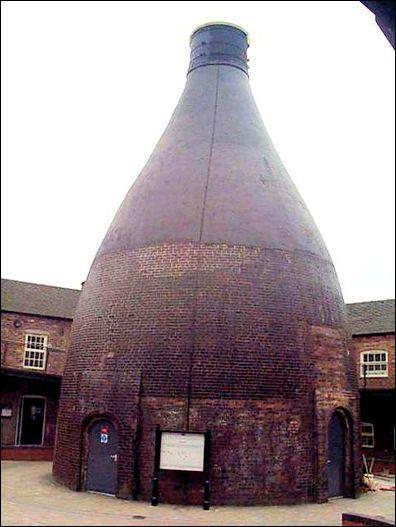 Bottle Kiln, Dudson Pottery, Hope St, Hanley / Stoke-on-Trent