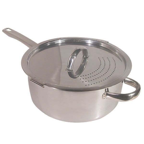Easy Pour Locking Lid Pot Pots And Pans Lidded Easy