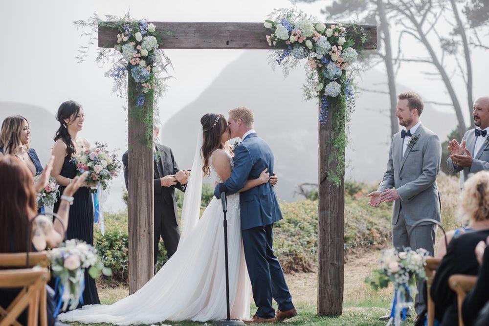 Coastal Mendocino California S Secret Wedding Wonderland Wedding Mendocino California Wonderland Wedding