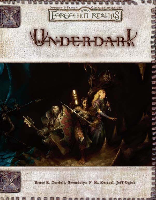 FORGOTTEN REALMS UNDERDARK 3.5 EBOOK
