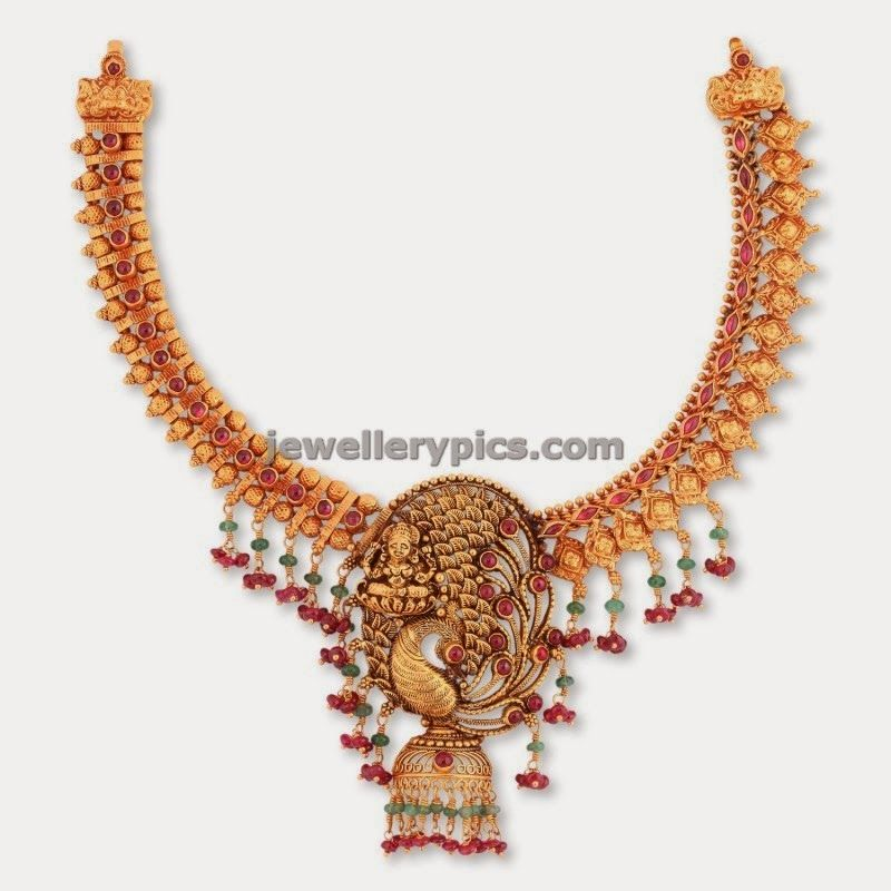 malabar gold antique gold necklace | ornaments | Pinterest | Gold ...