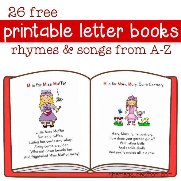 picture about Free Printable Alphabet Books called Cost-free Letter Publications Residence University E-book letters, Preschool
