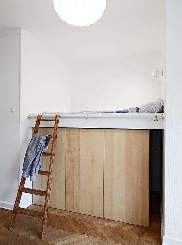 Arredare una cameretta piccola armadio sotto il letto for Arredare cameretta piccola