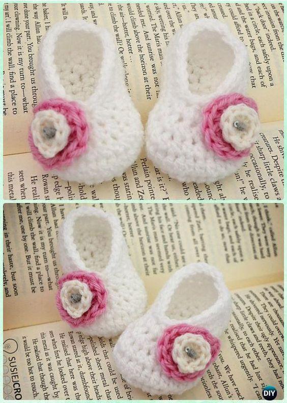 Crochet Basic Baby Booties Free Pattern Crochet Baby Booties