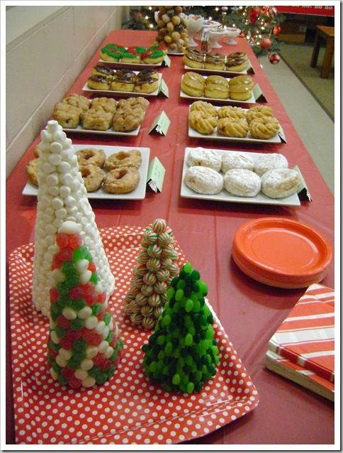 Delightful Christian Ladies Christmas Party Ideas Part - 4: Christmas Preparation Party For Womenu0027s Ministry Event - Lots Of Great Ideas  Here From The Décor