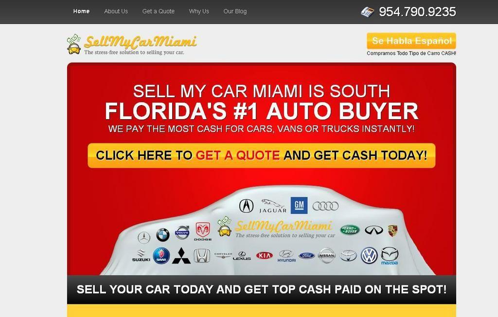 http://www.youtube.com/watch?v=TU7LnKghmnc http://www.SellMyCarMiami ...