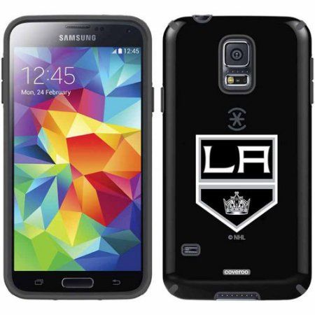 Los Angeles Kings Primary Logo Design on Samsung Galaxy S5 CandyShell Case by Speck