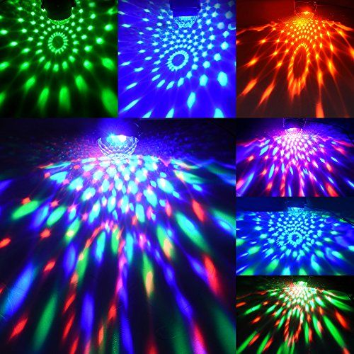 Led Party Lampe Rgb Discokugel Strobe Licht Dj Bel Party