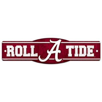 Amazon Com University Of Alabama Crimson Tide Roll A Tide 4