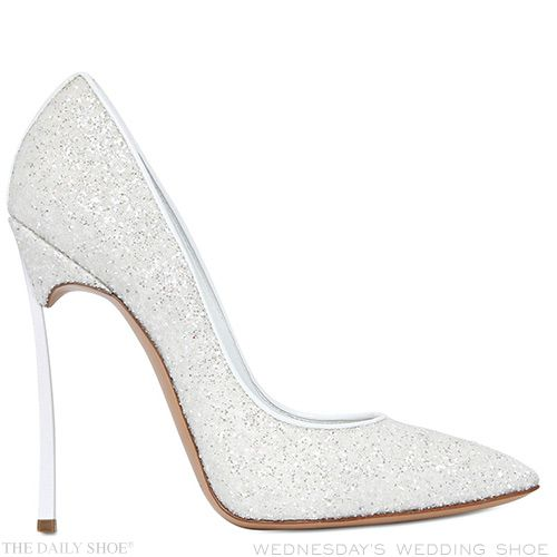 Wednesday S Wedding Shoe By Casadei The Daily Http Www Thedailyshoe