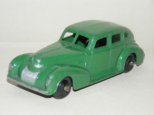 Dinky Toys - 1939 Chrysler Royal Sedan (#39E)