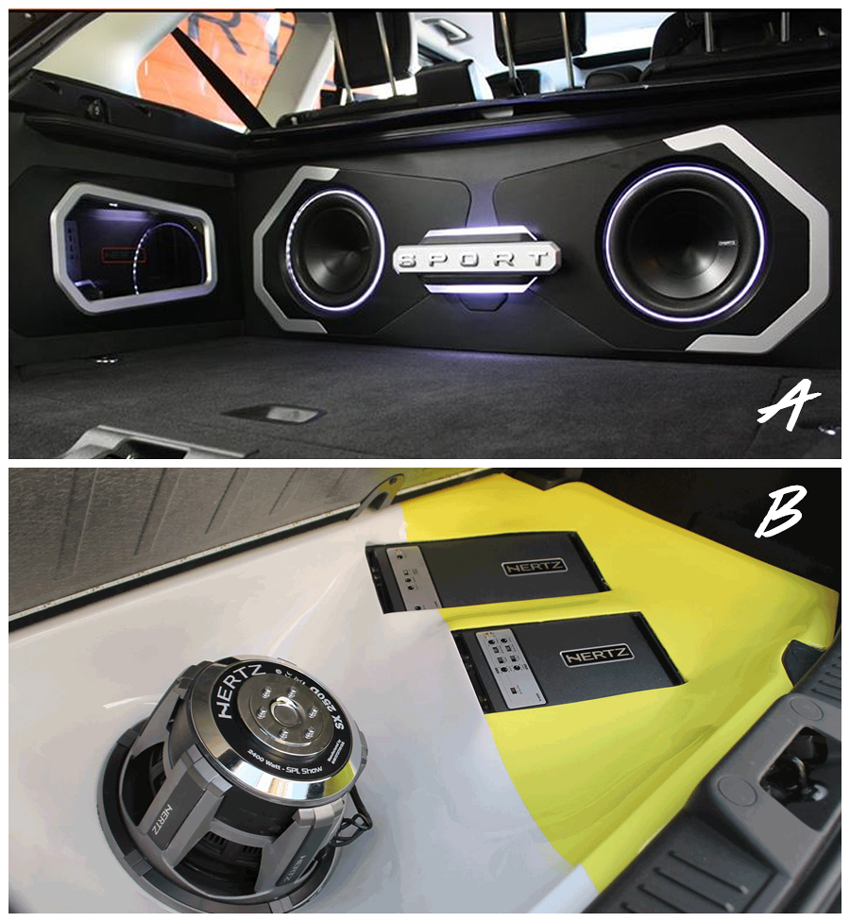 Which do you prefer A or B? A features a custom made box