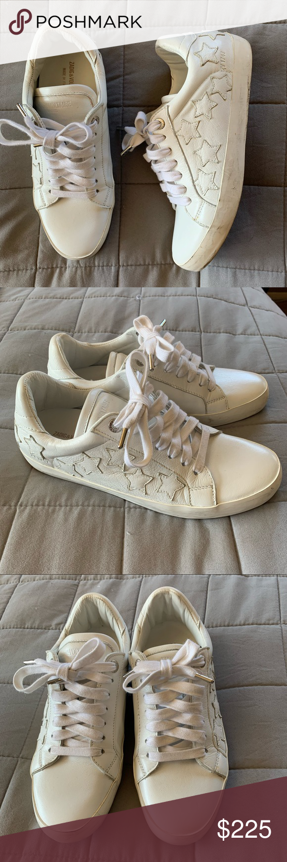 Zadig \u0026 Voltaire Star sneakers 39 white