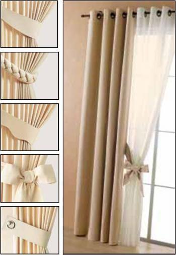 embrasses embrasse rideau pinterest embrasse rideau. Black Bedroom Furniture Sets. Home Design Ideas