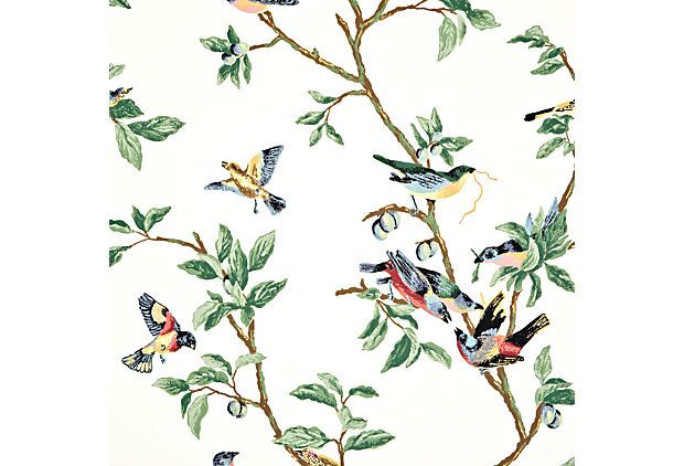 Little Bird, OffWhite THIBAUT INC. wallpaper Gracie