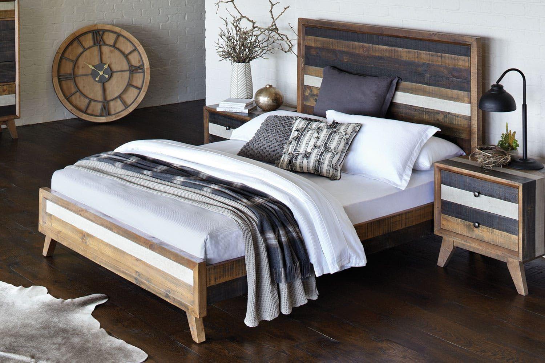 Crisp King Bed Frame by Insato Furniture Harvey Norman