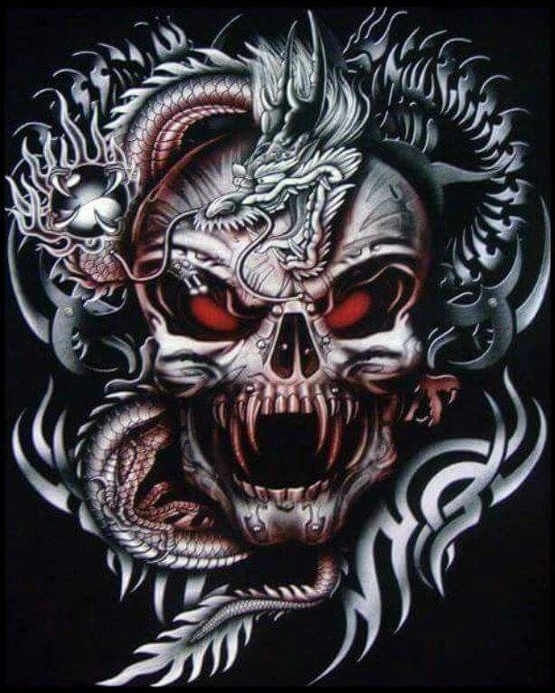 Wicked cool random pics pinterest t te de mort tete de et tatouage pour homme - Santa muerte tatouage signification ...