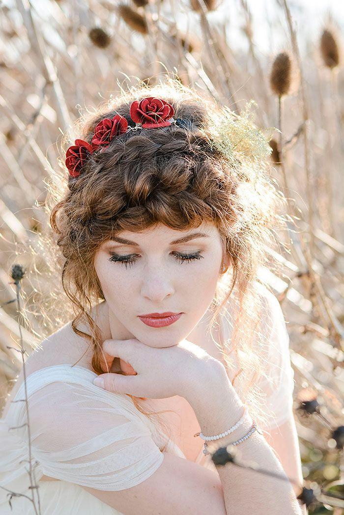 Natrlich schne Brautinspiration  Ideen fr die Hochzeit