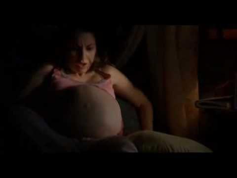 alien inside belly woman - 480×360