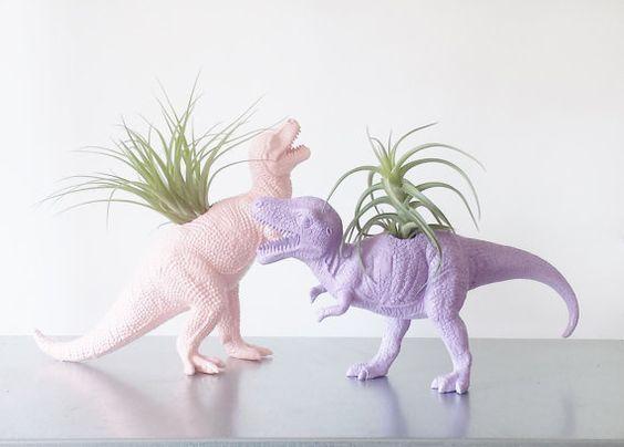 New Post On Atouchhereandthere Dinosaur Room Dinosaur Animal Planters