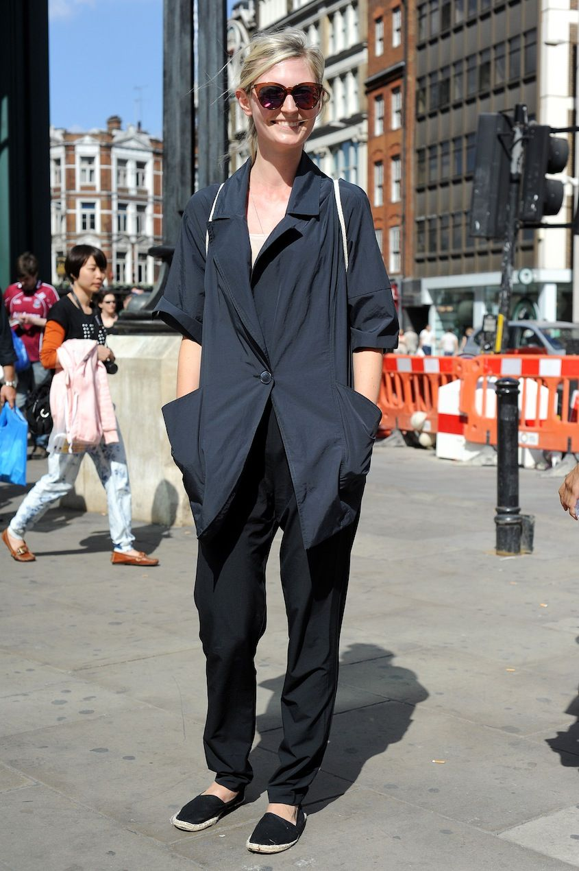 London summer chic courtesy of our new cross-Atlantic street style gallery