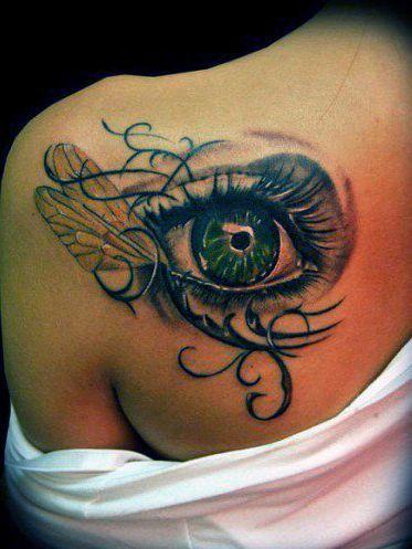 Tatuaże Damskie Oko 3d Tatuaże Tatuaże Tatuaż I Pomysły