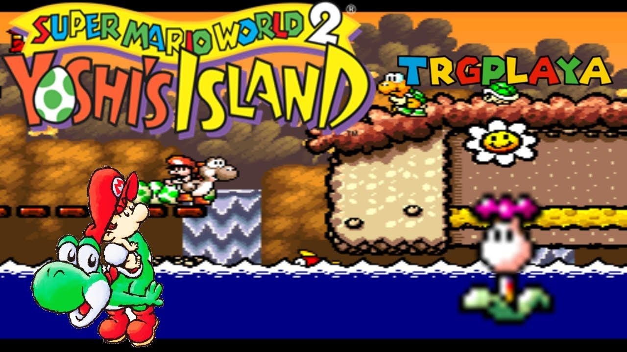 Super Mario World 2 Yoshi S Island Part 33 4 6 Lake Shore Paradise Yoshi Super Mario Super Mario World