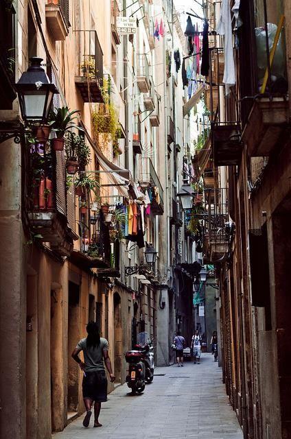 So in love with the Barrio Gotico. #Barcelona