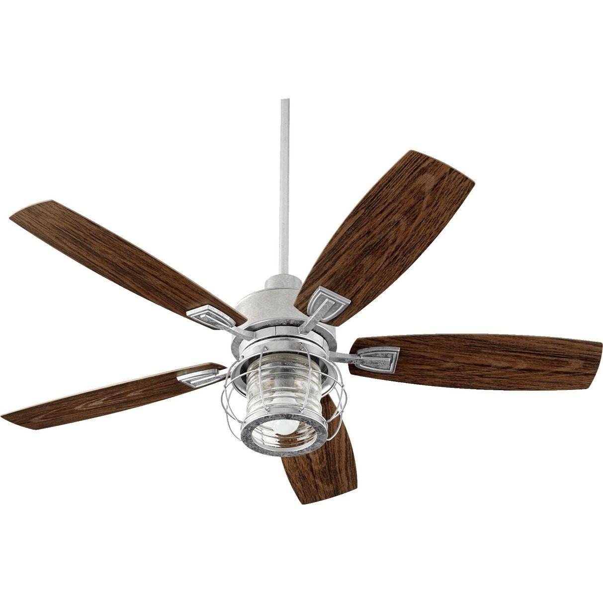 International Galveston 52-inch Patio Ceiling Fan with Light Kit ...