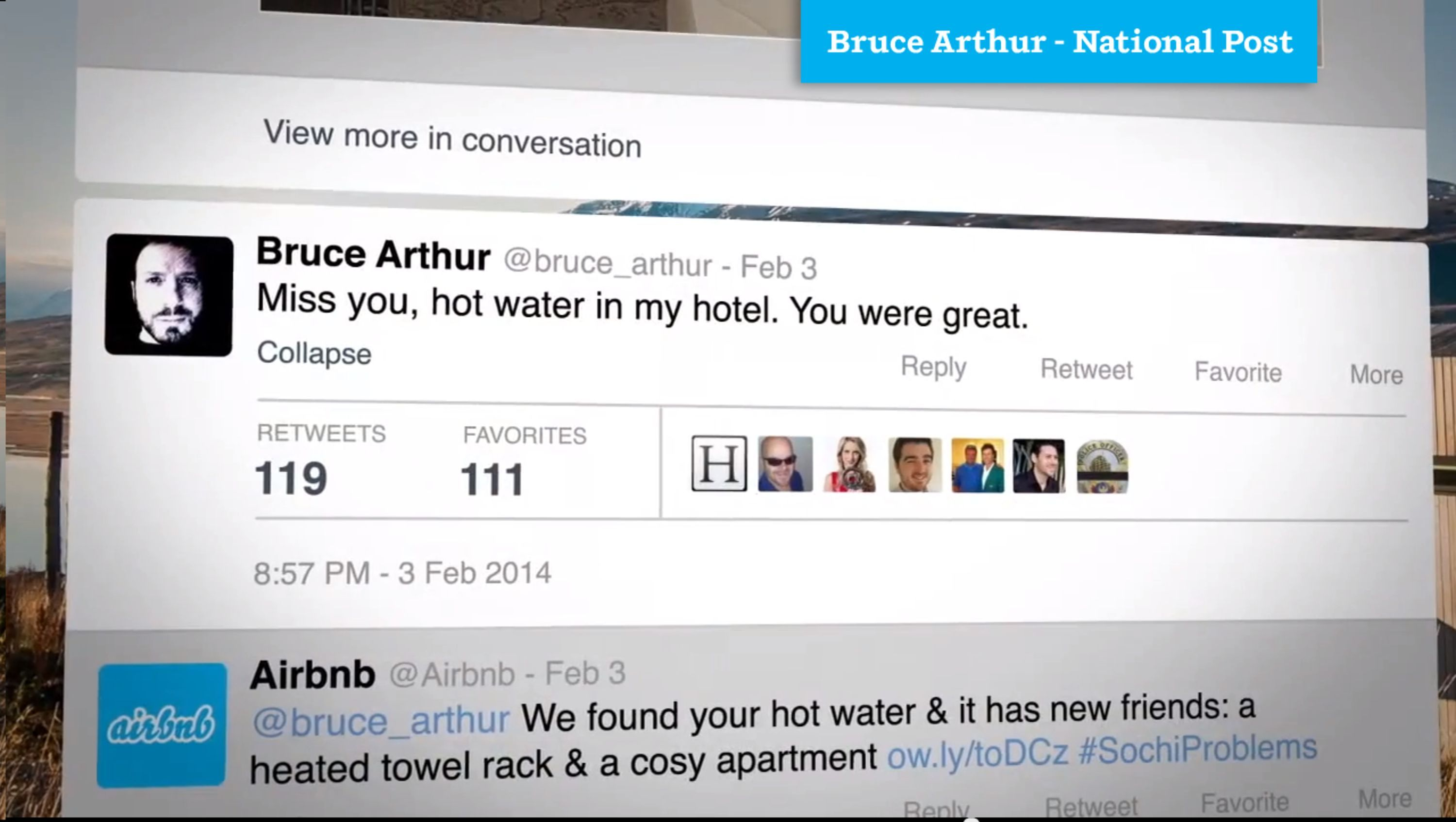 Solving #SochiProblems | Airbnb Direct Response Clever ...