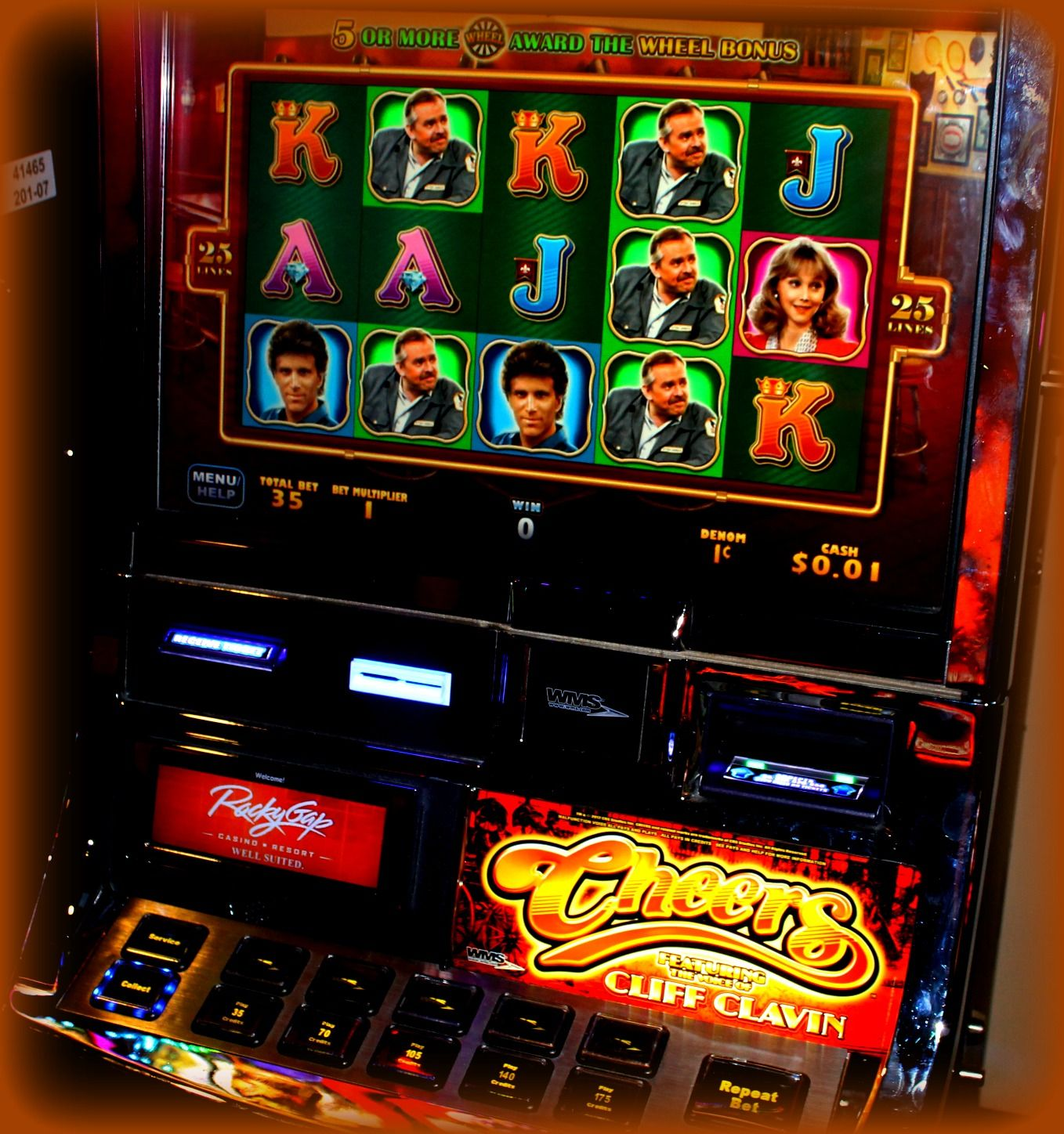 Play Our New Cheers Slot Machine Casino Arcade Games