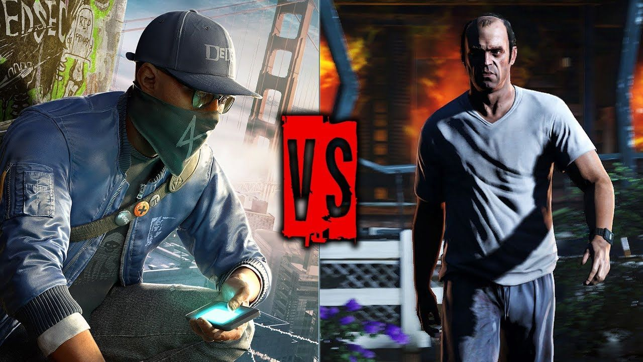 GTA V vs Watch Dogs 2 COMPARISON | Graphics | Gameplay