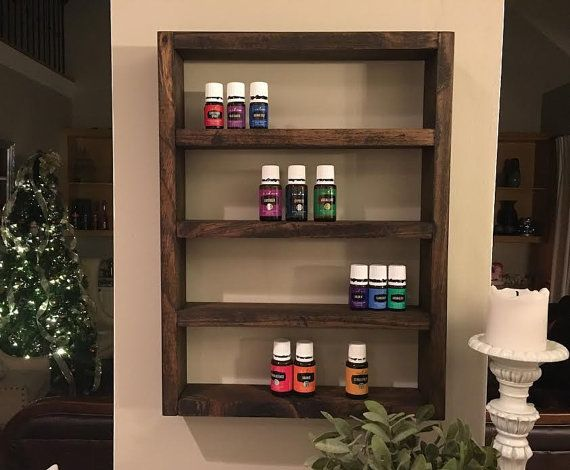 Essential Oil Shelf Essential Oil Display Essential Oil Storage